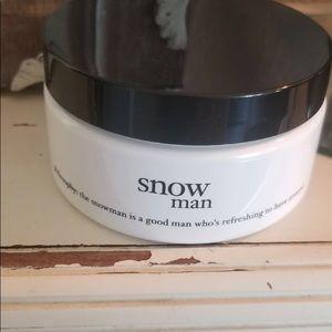 Philosophy snow man body soufflé NEW 4 fl oz